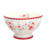 "GreenGate Frenchbowl ""Tess White"" M"