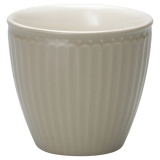 "GreenGate Latte Cup ""Alice"" Warm Grey"
