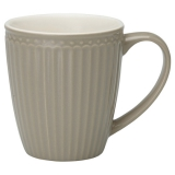 "GreenGate Henkeltasse ""Alice"" Warm Grey"